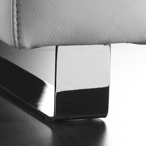 Kufe E, chrome, B 6 cm